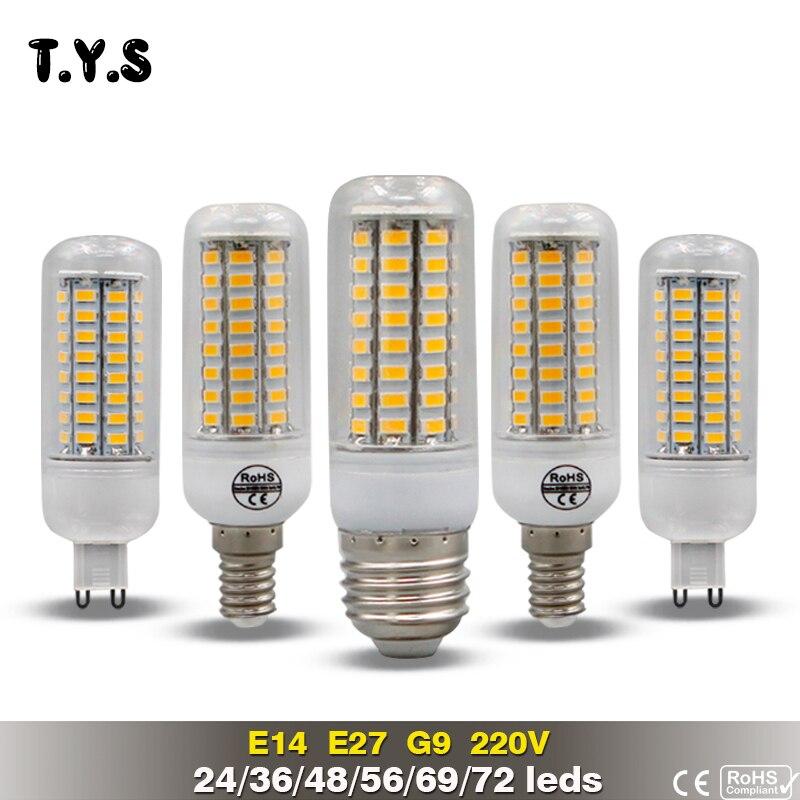 LED Lamp Bulb E27 Bombillas LED 20W SMD 5730 Lamp E14 Lamparas de LED Para Casa Lights 220v G9 Ampolletas LED Energy Saving Lamp цена
