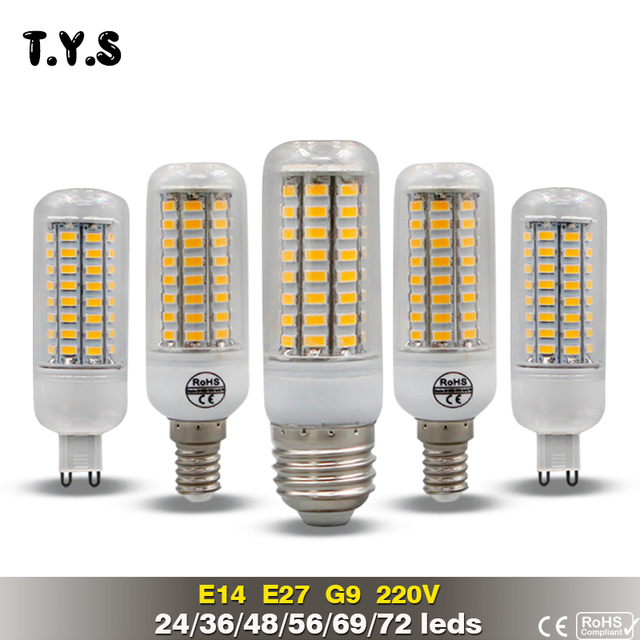 Led Lamp Bulb E27 Bombillas Led 20w Smd 5730 Lamp E14 Lamparas De - Lamparas-led-para-casa