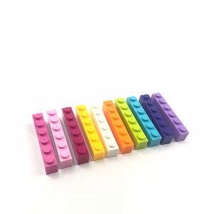 Image 4 - 1000 peças coloridas tijolos, compatíveis, clássico, blocos de construção, tijolos, crianças, brinquedos criativos para crianças, presente de aniversário de meninas, brinquedos