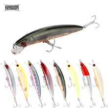Kingdom Fishing Lures 115mm 18.3g Artificial Hard Minnow Bait Topwater Floating Baits 8 Colors Available Tackle Lure5226