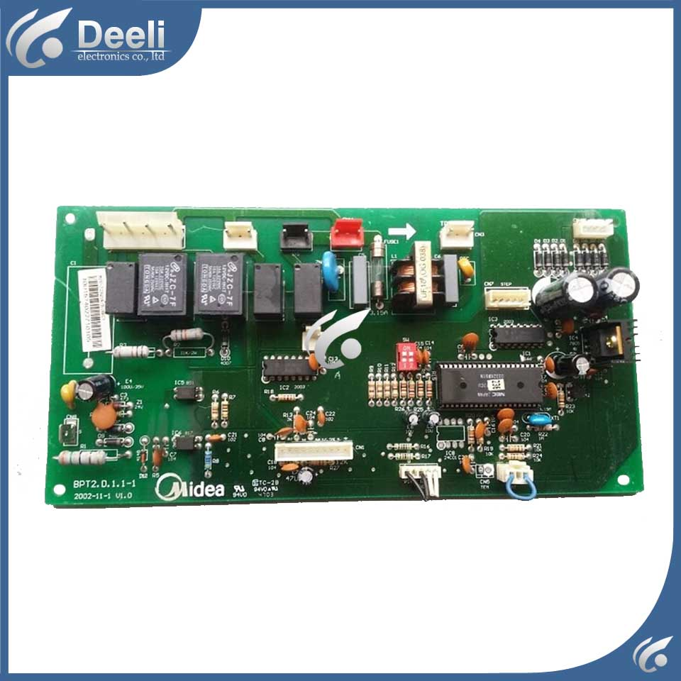 95% new good working for air conditioning MDV-J28Q1W/B(NEC) BPT2.D.1.1-1 pc board control used board pc board air conditioning accessories board 0010400526 used disassemble