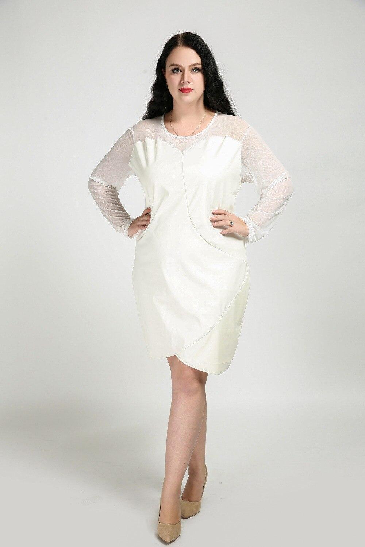 Berühmt Plus Größe Weiße Kleider Cocktail Galerie - Brautkleider ...