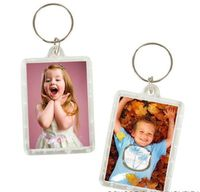 Personalised Heart Keyring Keychain YOUR PHOTO TEXT PHOTO FRAME KEYCHAINS KEY CHAIN CLEAR TRANSPARENT INSERT PICTURE