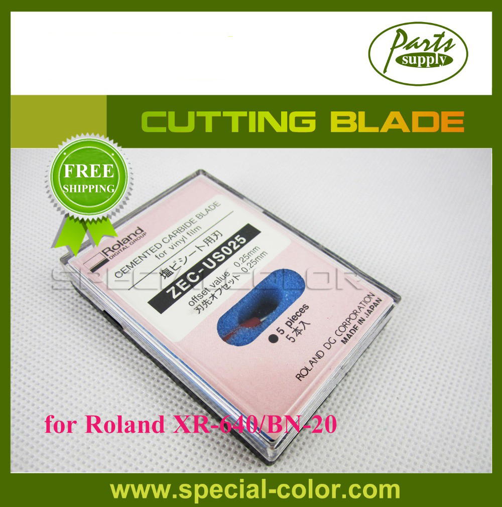Roland DX7 Printer XR-640/BN-20 Cutting Blade 45Degrees [ZEC-US025] roland standard cutting blade zec u1005 for printer