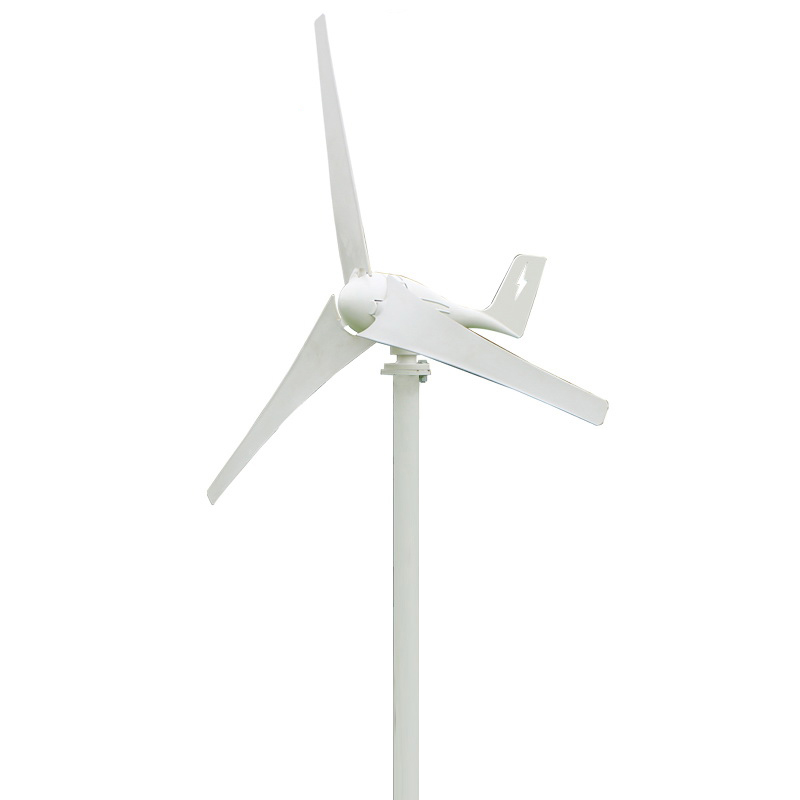 2018 Newest 600W 3 blades wind generator / wind turbine CE & RoHS approved high efficiency Wind Power Turbine Generator free shipping 600w wind grid tie inverter with lcd data for 12v 24v ac wind turbine 90 260vac no need controller and battery