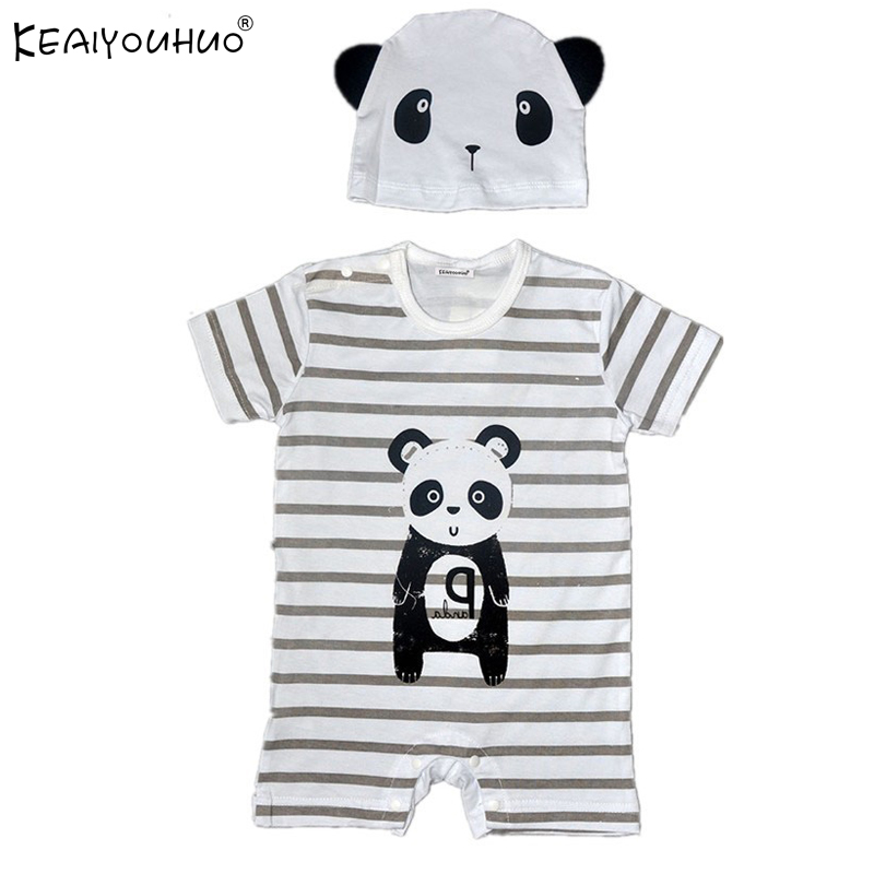 Toddler Baby Boy Rompers Summer Baby Girls Clothing Sets Infant Rompers Baby Jumpsuits Short Sleeve Newborn Baby Clothes