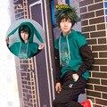 Nuevos disfraces de Cosplay de My Hero Academia Boku No Hero Academia Midoriya Izuku para adolescentes, sudaderas con capucha de algodón para la universidad, chaquetas, sudaderas, Top