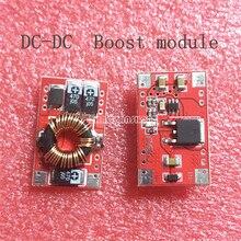 1 قطعة X كفاءة 92% DC DC محول تصعيد دفعة وحدة 3V إلى 5V دفعة لوحة دوائر كهربائية 3A ل المحمول شحن مجاني