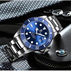 Image 4 - パガーニデザインブランドメンズ腕時計高級自動腕時計メンズステンレススチール防水ビジネス機械式時計リロイ hombre