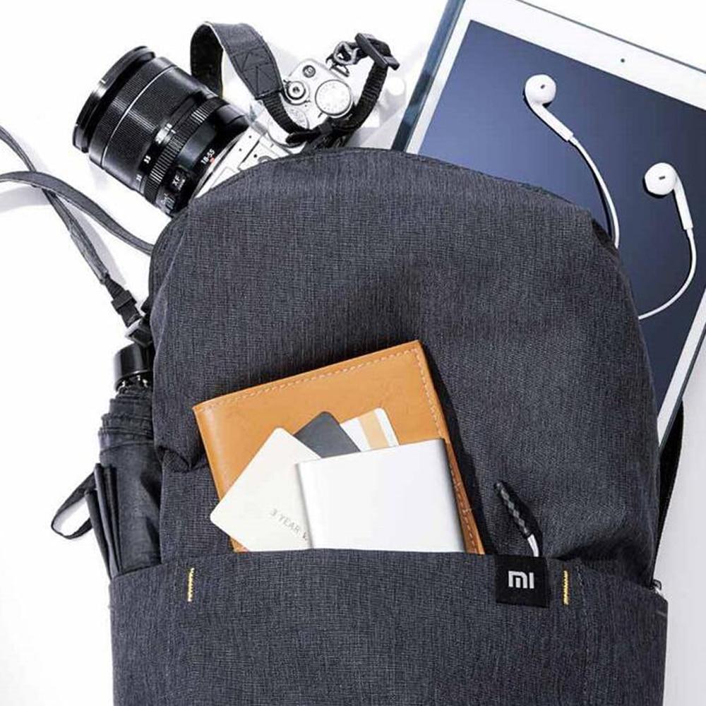 Original Xiaomi Mi Backpack 10L Bag 10 Colors 165g Urban Leisure Sports Chest Pack Bags Men Women Small Size Shoulder Unise 3