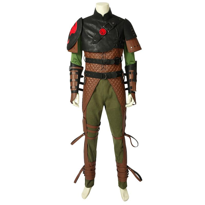 How To Train Your Dragon 2 Cosplay Hiccup Costume Fancy Suit Halloween Christmas Adult Uniform Outift Full Set Custom Made