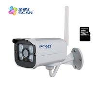 HD 1080P Bullet White IP Camera Wifi 2mp Wireless Seurveillance Security Mini Webcam CMOS Infrared Night
