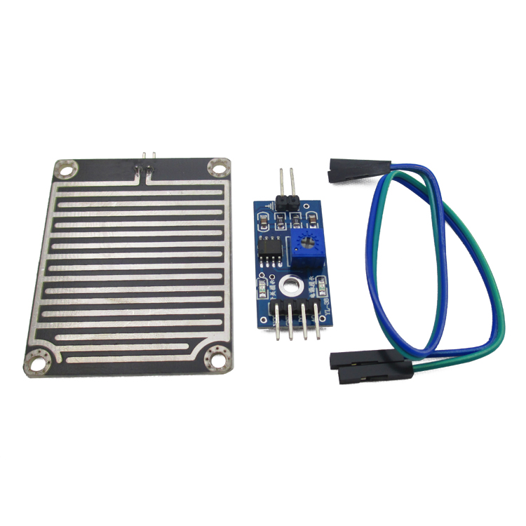 Rain Sensor Water Raindrops Detection Module for Arduino font b Raspberry b font font b Pi
