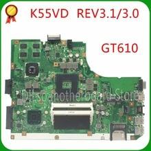 GT610 неинтегрированная A55V Тесты