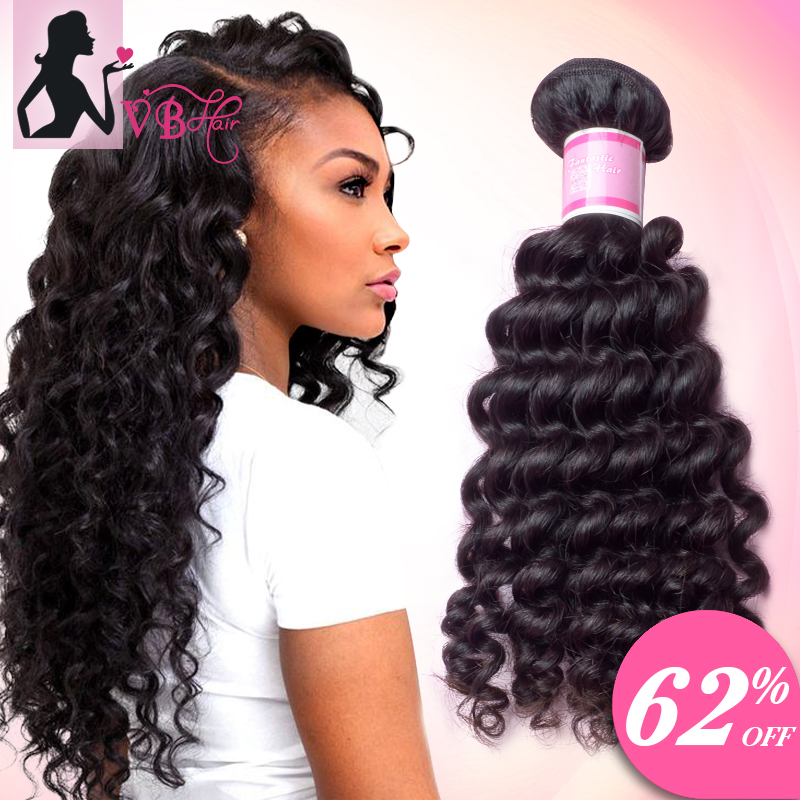 Natural Color Malaysian Deep Curly Virgin Hair Style 3pcs Malaysian Virgin Hair Kinky Curly 100