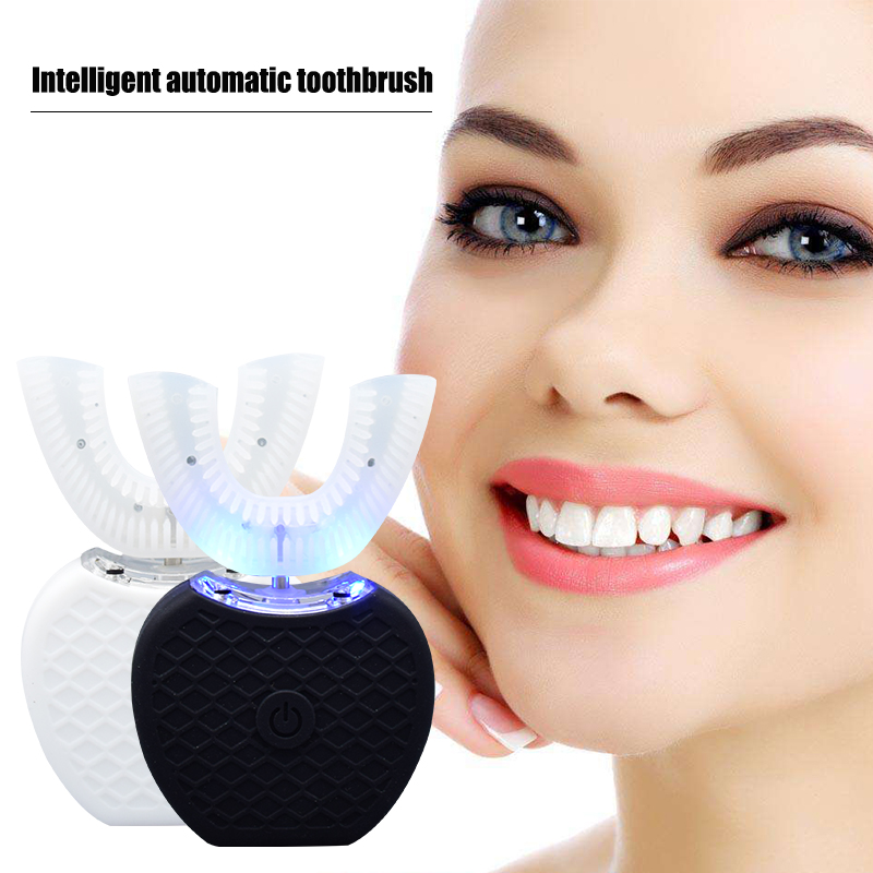 2018 V-WHITE Sonic Adult Toothbrush Wireless Charging 360 Degree Oral Teeth Automatic Personal Care Appliances Dropship