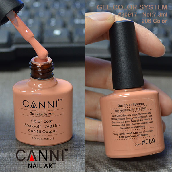 China manufacturer factory outlet nail polish gel vernish 206 color ...
