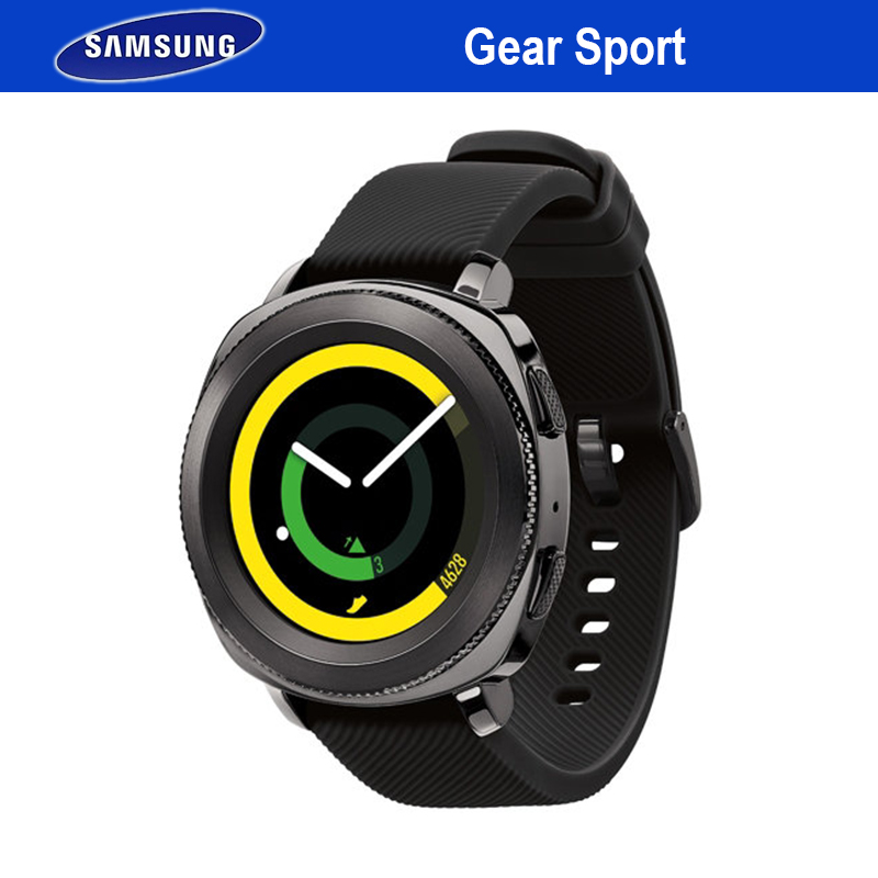 Samsung Gear Sport Smartwatch Bluetooth Fitness Heart Rate Smart Watch Wearable Devices Waterproof NFC GPS For iPhone Android