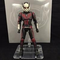 SHF S.H.Figuarts Civil War Captain America Super Hero Ant Man PVC Action Figure Collectible Model Kids Toys Doll 17cm