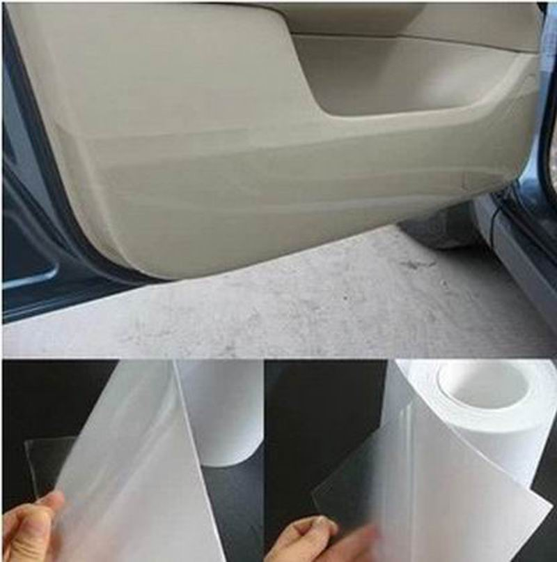 Automobiles & Motorcycles ... Exterior Accessories ... 32558601188 ... 2 ... 10 15 20CMx5M thickness:0.2mm Rhino Skin Car Bumper Hood Paint Protection Film Vinyl Clear Transparence film Free shipping ...