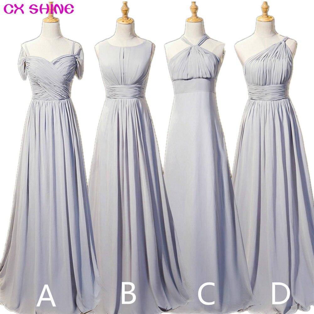 CX SHINE Νέα προσαρμοσμένο χρώμα Chiffon 4 - Φορεματα για γαμο
