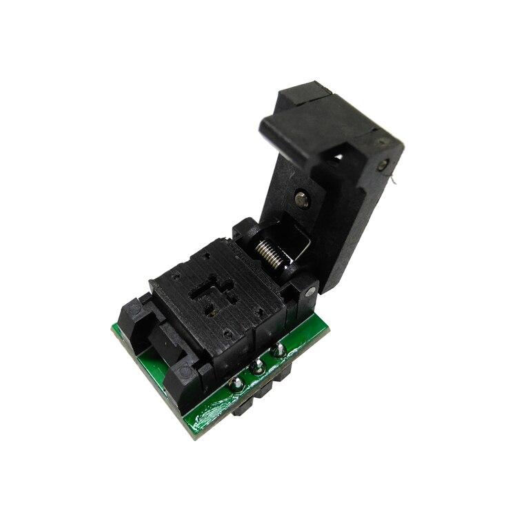 Купить с кэшбэком SOT23-3-0.95 Clamshell Pogo Pin Probe Test Socket SOT23-3-0.95-CP01PNL Programming Socket Pitch 0.95 Chip Size 1.3*2.8mm