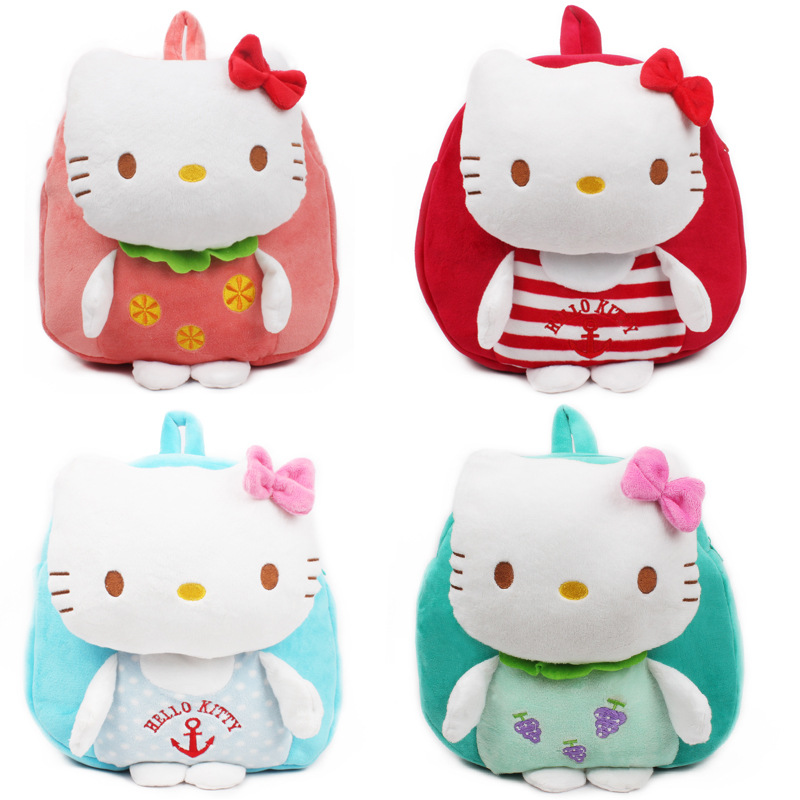Backpack Cute Schoolbags Baby-Bags Escolar Children's Gift Mochila Plush-Toys Anime Real-Rushed