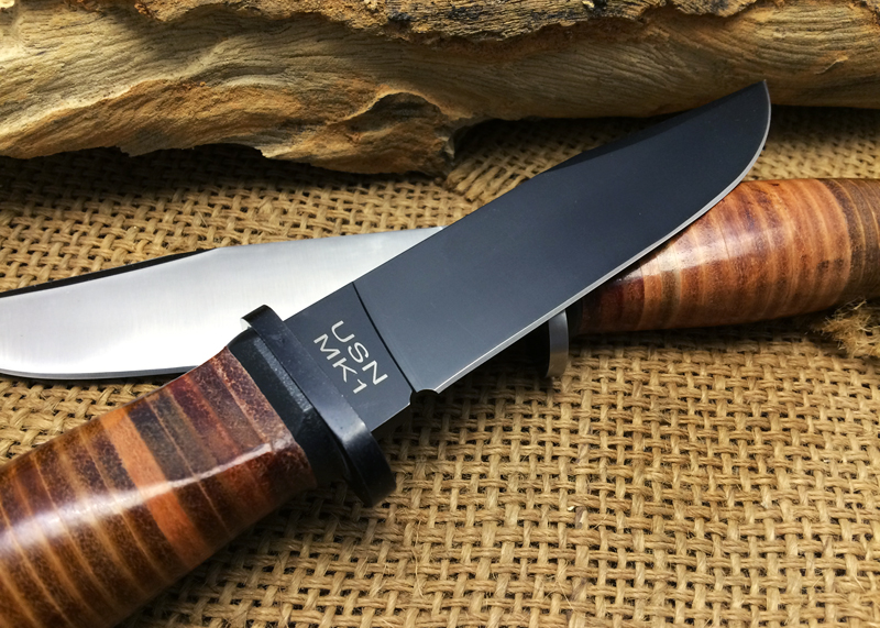 2 Version New Ka Bar Olean Ny Usn Mk1 Fixed Blade Knife 7cr17mov Hunting Knives Steel Leather Handle Utility Camping Edc Tools In Outdoor From Sports