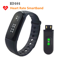 ID101 Wristband Heart Rate Tracker Call/Message Reminder Remote Control Waterproof Sport Fitness Bracelet PK Fitbit Mi Band 2