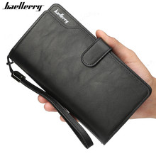 Baellerry Wallet Men Top Quality Leather Wallet Purse Fashion Casual Male Clutch