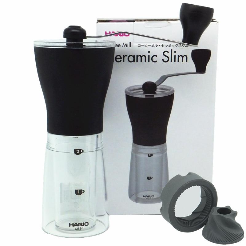 Hario Mill Slim manual Coffee bean Grinder hand made ...
