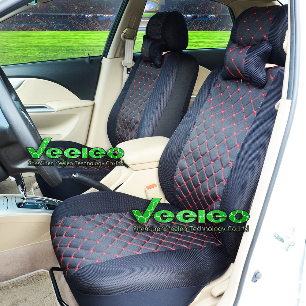 veeleo front rear universal car seat covers for hyundai solaris getz elantra accent tucson. Black Bedroom Furniture Sets. Home Design Ideas