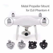 4pcs DJI Phantom 4 Propeller Mounting Base Wing Metal Bracket Mount Holder Protector for DJI Phantom 4 9450S Drone Drop Shipping цена и фото
