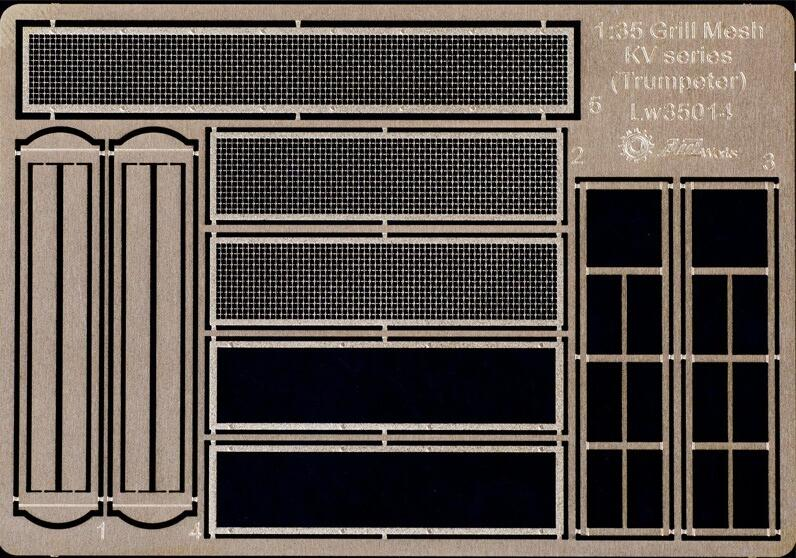 <font><b>1/35</b></font> Grill Mesh for <font><b>Trumpeter</b></font> KV Series image