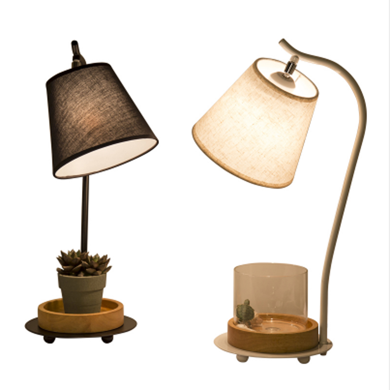 Здесь продается  ZYY Fashion Creative Loft Warm Iron Table Lamps Retro Plant Vase Lighting For Bedroom Foyer Hotel Home With LED Bulb  Свет и освещение