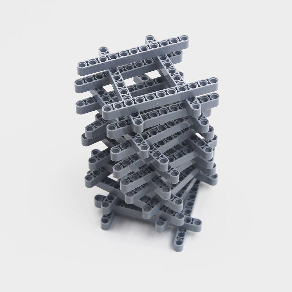 Self-Locking Bricks Free Creation Of Toys -- MOC Building Blocks 5PCS TECHNIC 11M BEAM Compatible With Lego NOC6028107