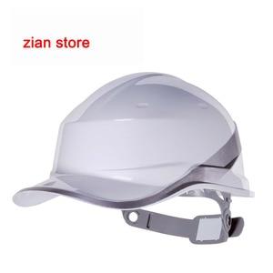 Image 4 - Material de isolamento do abs do tampão do trabalho do capacete de segurança do chapéu duro do logotipo da cópia livre com construção da listra do fósforo protegem capacetes