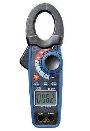 ФОТО Digital Clamp Meter Multimeter AC Current Voltage Resistance Diode Tester 1000A CEM DT 3340