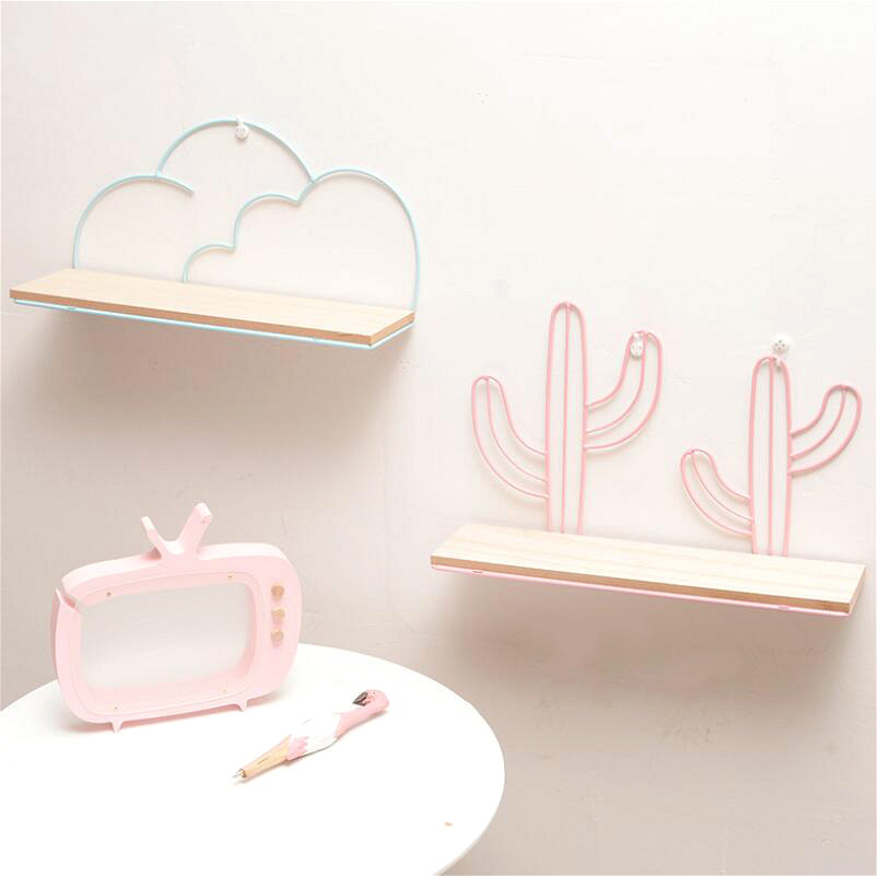 Image 3 - Iron Pine Hook Type Water Wall Hanging Decoration No Nails Kitchen Sponge Holder Wall Organizer Shelfs Bedroom Supplies Rack-in Storage Holders & Racks from Home & Garden