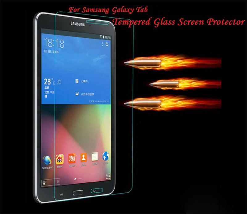 For Samsung Galaxy Tab  8.0' 10.1'  9.7 ' T330 T530 T520 T550 T580 T700 T800 T810 T820  Tempered Glass Protective Screen Protector Film