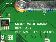 Free Shipping + WORKING + NEW !! Laptop motherboard K54LY REV : 2.1 for ASUS K54LY X54H NOTEBOOK