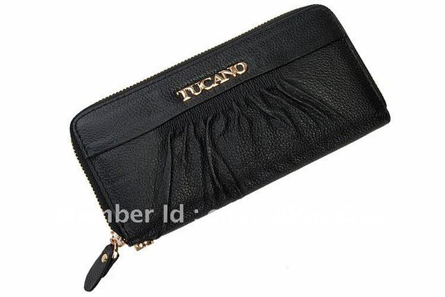 2012 newest!free shipment cow leather ,korea fashion ,high quality women's long wallet/purse/hangbag with big capacity