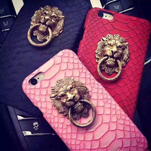 Snake Skin Lion Case For iPhone