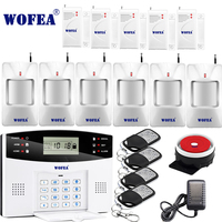 106 Zone LCD Keyboard Wired Wireless GSM Alarm System Home Security Set Voice Guide Two Way