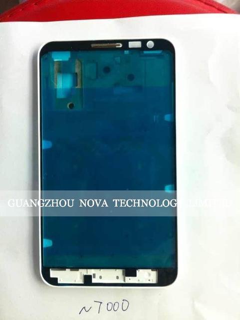 Оригинал Средний Корпус Рамка Рамка для Samsung Galaxy Note gt N7000 I9220 Крышки Черный/Белый; Бесплатная Доставка