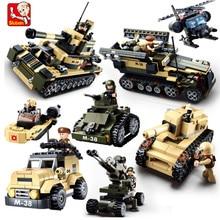 928Pcs 8 IN 1 Army Specia Force Military Tank Truck Model Building Blocks Sets LegoINGLs Bricks Educational Toys For Children panasonic kx tg1611ruh