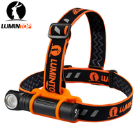 LUMINTOP Rechargeable Multifunction Headlight HL18 One Switch Operation with Magetic Tail and Anti slip headband