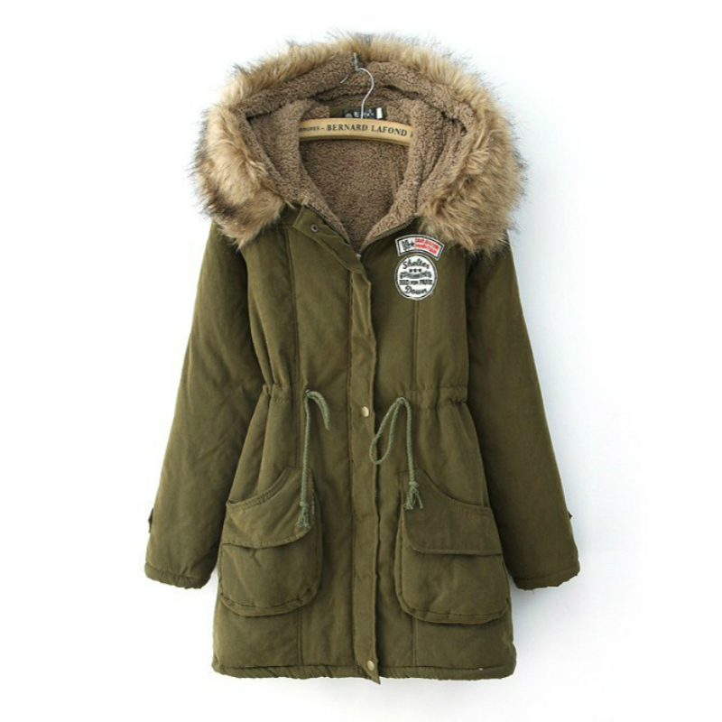 Jackets For Women Winter Sale Warm Wool Outerwear Coats Woolen Overcoat  Long Coat Large Size Wool & Blends Long Jacket
