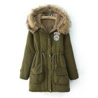 Jackets for Women Winter Sale Warm Wool Outerwear Coats Woolen Overcoat Long Coat Large Size Wool & Blends Long Jacket