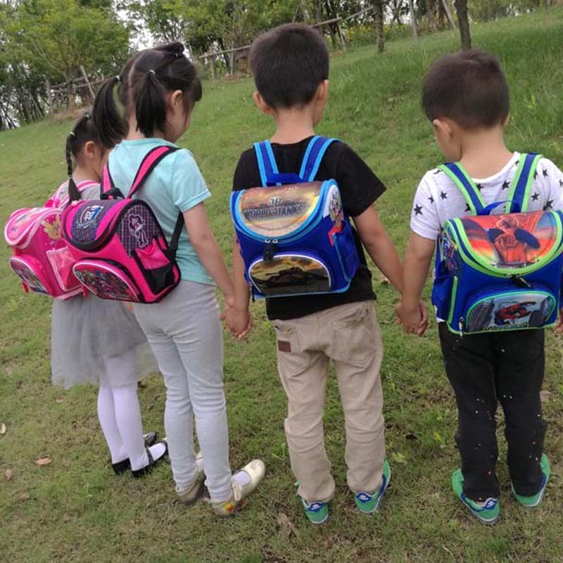 574b34bce8df kindergarten new Kids school Backpack monster winx EVA FOLDED orthopedic  baby School Bags for boys and Girls mochila infantil-in School Bags from  Luggage   ...